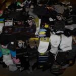 lot de 750 paires de chaussettes