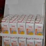 palette de 100 bidons de déboucheur acide