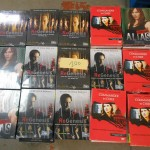 palette de 100 coffrets DVD