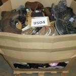 palette de 100 paires de chaussures