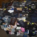 palette de 1000 paires de chaussettes