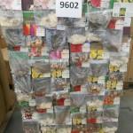 palette de 1200 sachets de bulbes de fleurs