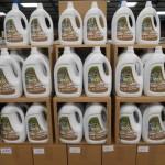 palette de 200 bidons de lessive liquide 3 litres 40 lavages au savon de marseille