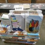 palette de 230 petits tableaux