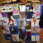 palette de 650 paires de collants, bas et mi bas