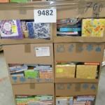 palette de 700 lots de serviettes en papier
