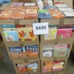 palette de 800 lots de serviettes en papier