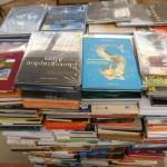 palette de livres  romans, livres de cuisine, livres pour enfants… Environ 500 livres