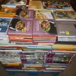palette de livres