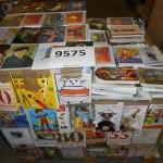 palette d'environ 2500 cartes postales aux motifs divers.