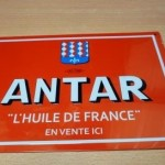 plaque automobile ANTAR