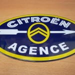 plaque automobile CITROEN