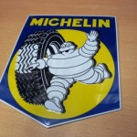 plaque automobile MICHELIN