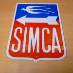 plaque automobile SIMCA