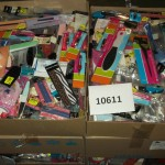 lot de 1000 pièces d'accessoires de pédicure, manucure et accessoires beauté