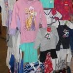lot de 462 pièces de textile enfant et baby
