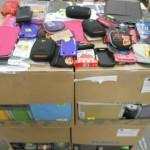 lot de 500 accessoires pour téléphone, tablettes, etc