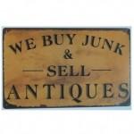 plaque vintage
