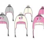 48 bonnets péruviens ZhuZhu Pets tailles 52.54