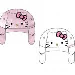 48 chapkas bébé Hello Kitty tailles 48.50