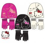 48 sets bonnet + gant Hello Kitty tailles 52 54