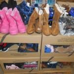 lot de 150 paires de bottes