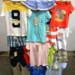lot de 250 pieces de textiles enfants baby de marques GRAIN DE BLE, DISNEY, LISA ROSE, YCC…etc