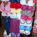 lot de 350 pieces de lingerie feminine de marque PLAISIR, PLAY BOY, CLEO, ALLUMETTE, ATHENA……