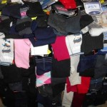lot de 700 paires de chaussettes