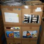 lot de loisirs creatifs kits de peinture, albums photos, stickers, support a peindre…..