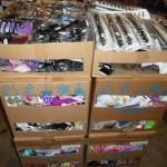 lot d'environ 2500 accessoires cheveux